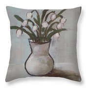 Spring On The Table Throw Pillow