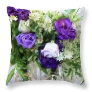 Spring Passion Throw Pillow