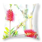 Spring Pastel Throw Pillow