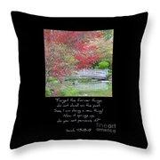 Spring Revival Throw Pillow