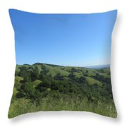Spring Ridge Throw Pillow