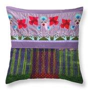 Spring Rising Throw Pillow