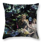 Spring Rites Throw Pillow