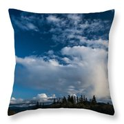 Spring Skies Of The Rogue Valley Throw Pillow