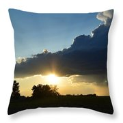 The Sun Always Comes After The Storm Throw Pillow