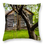 Spring Swing Throw Pillow