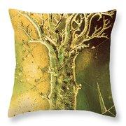 Spring Tree Throw Pillow