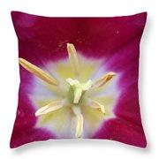 Spring Tulips 187 Throw Pillow