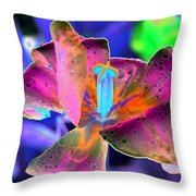 Spring Tulips - Photopower 3128 Throw Pillow