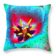 Spring Tulips - Photopower 3131 Throw Pillow