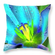 Spring Tulips - Photopower 3150 Throw Pillow
