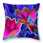 Spring Tulips - Photopower 3151 Throw Pillow