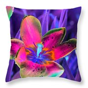 Spring Tulips - Photopower 3154 Throw Pillow