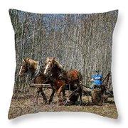 Spring Twitch Throw Pillow