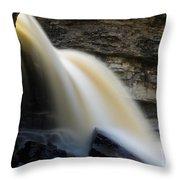 Spring Waterfall Throw Pillow