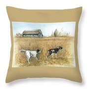 Springfield Bird Dogs Throw Pillow