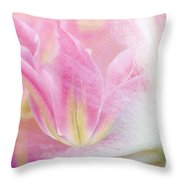 Springing Forth Throw Pillow
