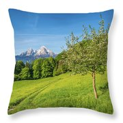 Beauty In Your Hands Throw Pillow