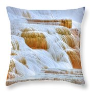 Springs Alive Throw Pillow