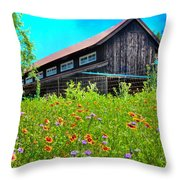 Spring's Blessings Throw Pillow