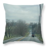 Spring's Promise Is Showing Throw Pillow