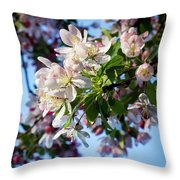 Springtime In Bloom Throw Pillow