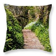 Springtime In Dorset Throw Pillow