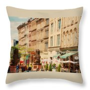 Springtime In Halifax Throw Pillow