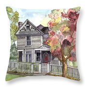 Springtime In The Country Throw Pillow
