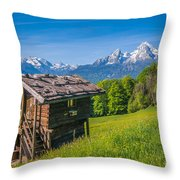 Springtime Wonderland Throw Pillow