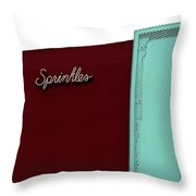Sprinkles Beverly Hills Throw Pillow