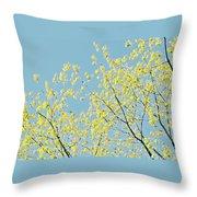 Sprint Blossom  Throw Pillow