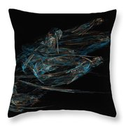 Sprint Throw Pillow