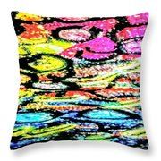 Sprouting Downward Throw Pillow