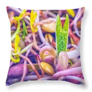 Sprouts Are Magic Throw Pillow