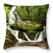 Spruce Flats Falls 2 B Throw Pillow