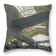 Spruce Goose Throw Pillow