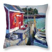 Spruce Head Island, Maine Throw Pillow