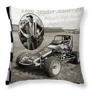 Spyder Throw Pillow