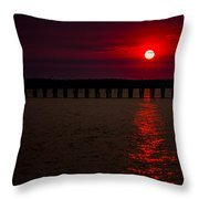 Squalicum Sunset Throw Pillow