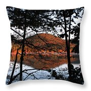 Squam Lake 1 Throw Pillow