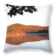 Squam Lake 2 Throw Pillow