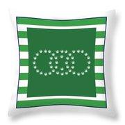 Square 8-20c Throw Pillow