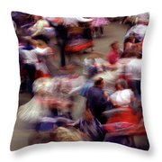 Square Dance Love Throw Pillow