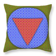 Square Dance Throw Pillow