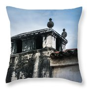 Square Dome Throw Pillow