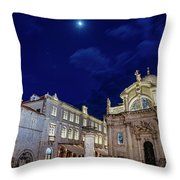 Square Of The Loggia Throw Pillow