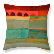 Square Stripes Throw Pillow