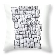 Square Wall Throw Pillow