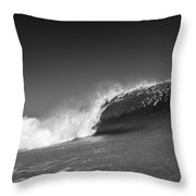 Square Water Throw Pillow